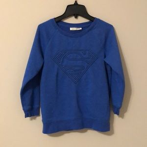GapKids Superman Blue Sweatshirt